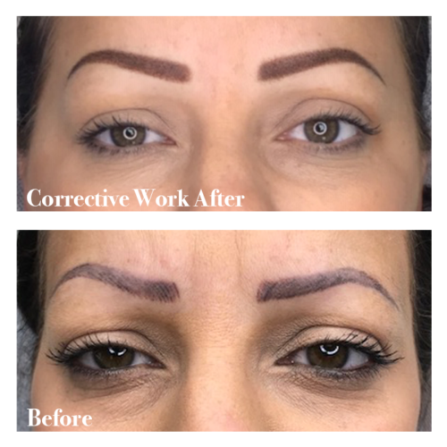 Corrective Work After